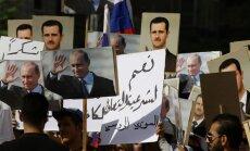 Krievijas vēstniecība Damaskā apšaudīta ar mīnmetējiem