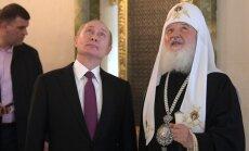 Par maz: Patriarhu Kirilu neapmierina 200 baznīcu celtniecības plāns Maskavā