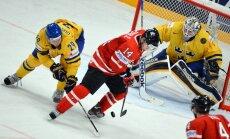 Kanādas hokejisti satriekti par pusfināla nesasniegšanu ceturto gadu pēc kārtas