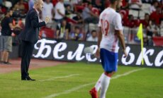 The Russian national team s head coach Stanislav Cherchesov