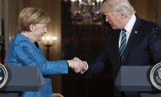 Trampa tvīts kāpina spriedzi starp ASV un Vāciju