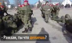 Video: Čečenu vīri pako somas, lai dotos palīgos Asadam