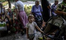 Krievijas valdība uzdevusi līdz gada beigām slēgt pagaidu izmitināšanas centrus Ukrainas bēgļiem