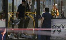 'Hamas': sprādziens Telavivas autobusā ir atbilde uz Izraēlas rīcību Gazas joslā