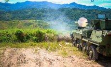 Foto: Ukraiņu BTR-4M izmēģināti tropiskā klimatā Indonēzijā