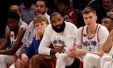 Porziņģim 20 punkti zaudējumā pret 'Heat'; 'Knicks' zaudē izredzes iekļūt izslēgšanas turnīrā