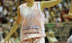 Latvijas sieviešu basketbola izlase pārbaudes spēlē uzvar Lietuvu