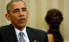 Obamas ieraksts par vardarbību Šarlotsvilā kļuvis par populārāko tvītu vēsturē
