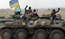 Ukrainas karavīri ar kaujām atbrīvojuši Luhanskas lidostu