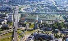 В Риге началось строительство многофункционального торгового центра Akropole
