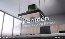 Video: Gaisa dārzs, ledusskapis ar logu un citi nākotnes virtuves elementi