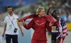 Radēviča Londonā īpašā IAAF apbalvošanas ceremonijā saņems PČ sudraba medaļu