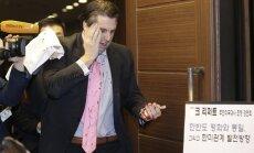 ASV vēstnieku Dienvidkorejā savainojis uzbrucējs ar nazi