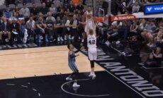 Video: Dāvja Bertāna 'danks' pēc lieliskas piespēles atzīts par NBA dienas skaistāko epizodi