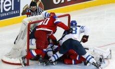 Krievijas un Somijas hokeja izlases aizvadīs pasaules čempionāta finālu