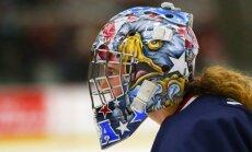 SOK liek ASV hokeja izlases vārtsardzei novākt no ķiveres Konstitūcijas tekstu