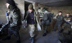 Ukrainas austrumos otrdien nogalināti vismaz 200 Krievijas karavīri un kaujinieki