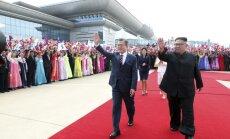 Лидер Южной Кореи впервые за 10 лет посетил КНДР: его встретили с почестями