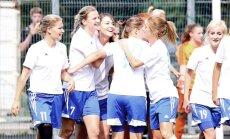 Latvijas sieviešu futbola kausu trešo reizi izcīna Rīgas Futbola skola