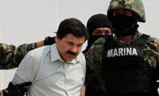 Meksika piekrīt izdot 'El Chapo' ASV