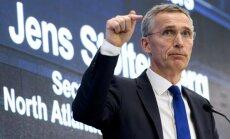 Stoltenbergs: Baltijas valstis nav pakļautas uzbrukuma 'draudošām briesmām'