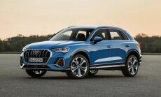 'Audi' prezentējis otrās paaudzes 'Q3' apvidnieku