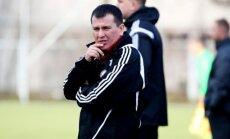 Latvijas U-19 futbola izlase bēdīgi slavenajā Iecavas stadionā uzvar RFS
