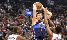 Novickis kļuvis par sesto NBA basketbolistu ar 50 000 spēles minūtēm