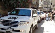 Starptautiskie eksperti sākuši iznīcināt Sīrijas ķīmiskos ieročus
