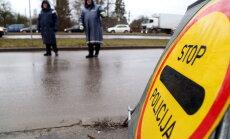 Trešdien 57 ceļu satiksmes negadījumos cietuši astoņi cilvēki