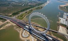 В Китае открывается колесо обозрения без спиц