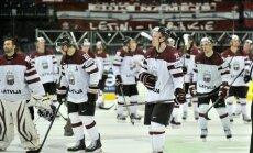 Latvijas Hokeja federācija: izlase uzdevumu pasaules čempionātā nav izpildījusi