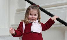 Apburoši foto: Princese Šarlote uzsāk bērnudārza gaitas