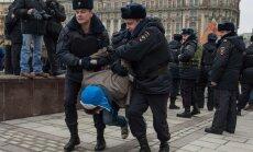 Maskavā sarīkots 'tautas atbalsta gājiens' Putina politikai Ukrainā
