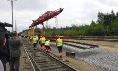 В Литве завершено строительство участка Rail Baltica