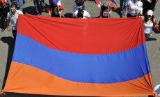 Armēnijas opozīcijas līderis atsakās atzīt sakāvi prezidenta vēlēšanās