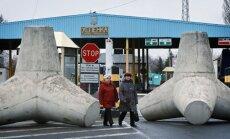 Separātisti joprojām kontrolē Ukrainas-Krievijas robežu 450 kilometru garumā