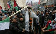 Trampa lēmums par Jeruzalemi izraisa vardarbīgus protestus Gazas joslā un Rietumkrastā