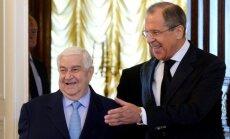 Putins Sīrijai apsolījis politisku, ekonomisku un militāru atbalstu