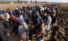 Horvātija lūgusi ES ārkārtas materiālo palīdzību imigrantu krīzes risināšanai
