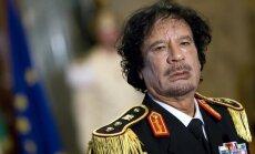 'Tuvo Austrumu trakā suņa' gāšana: pieci gadi kopš pulkveža Kadafi nāves