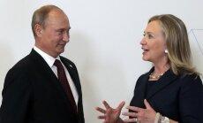"Хиллари Клинтон: Путин — ""тонкокожий и автократичный"""