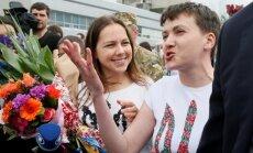 """Савченко пила водку """"из горла"""" во время спасительного полета из России"""