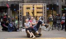Foto: Daudzveidīgais cirks – festivāla 'Re Rīga!' spilgtākie mirkļi
