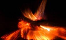 Rudens drēgnuma bieds - elektriskais kamīns