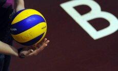 'Zeltaleja/MSĢ' volejbolistes uzvar pirmajā Latvijas čempionāta finālspēlē