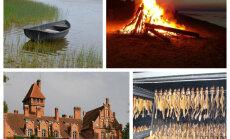 Jestra atpūta brīvdienās: Uguns nakts, dārza svētki pilī un zvejnieku gardumi