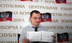 Doņeckā nobalso par atdalīšanos no Ukrainas; Maskava respektē 'iedzīvotāju izvēli'