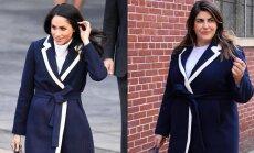 Foto: 'Instagram' zvaigzne steidz atdarināt Meganas Mārklas tērpus