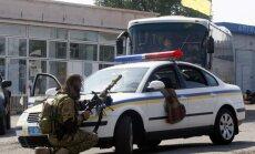 Pretterorisma spēki ieguvuši daļēju kontroli pār Luhansku